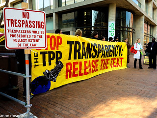 The People Are Watching the TPP