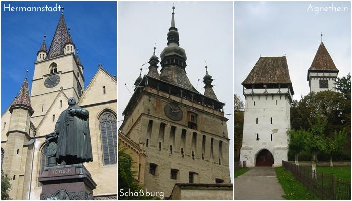 Hermannstadt | Schäßburg | Agnetheln