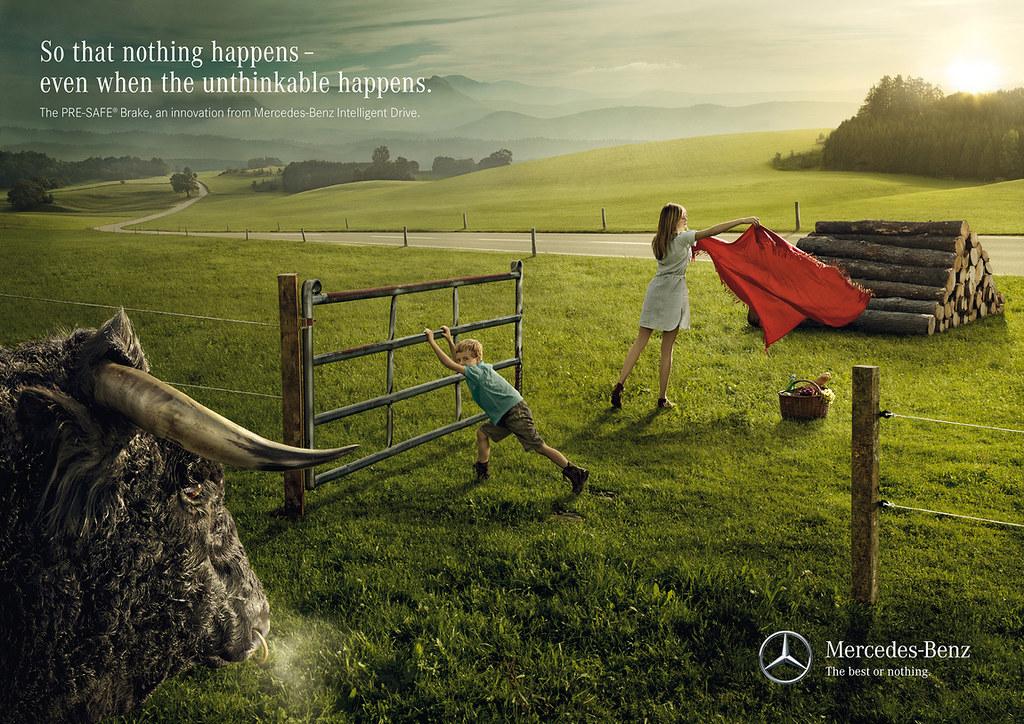 Mercedes-Benz Intelligent Drive Pre-Safe Brake - Bull