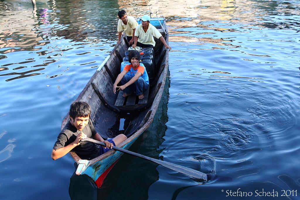 Boat trades - Semporna, Malaysia