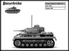 Panzer III Ausf H de Panzerbricks