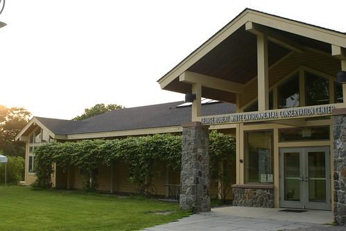 Boston Nature Center front