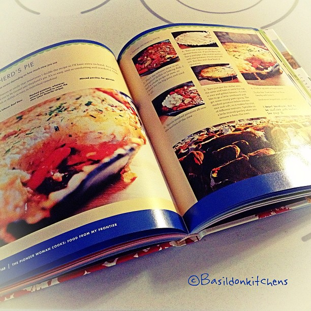 Aug 16 - cooking {still deciding what to make for dinner}. This looks good! #fmsphotoaday #cooking #cookbook #yum #pioneerwoman #reedrummond