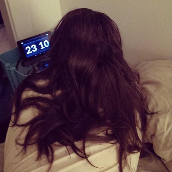 I'm living vicariously through @blame_simian's hair #longhairdontcare #merman