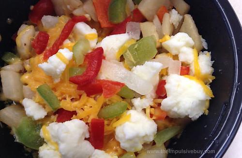 Jimmy Dean Delights Garden Blend Breakfast Bowl Closeup