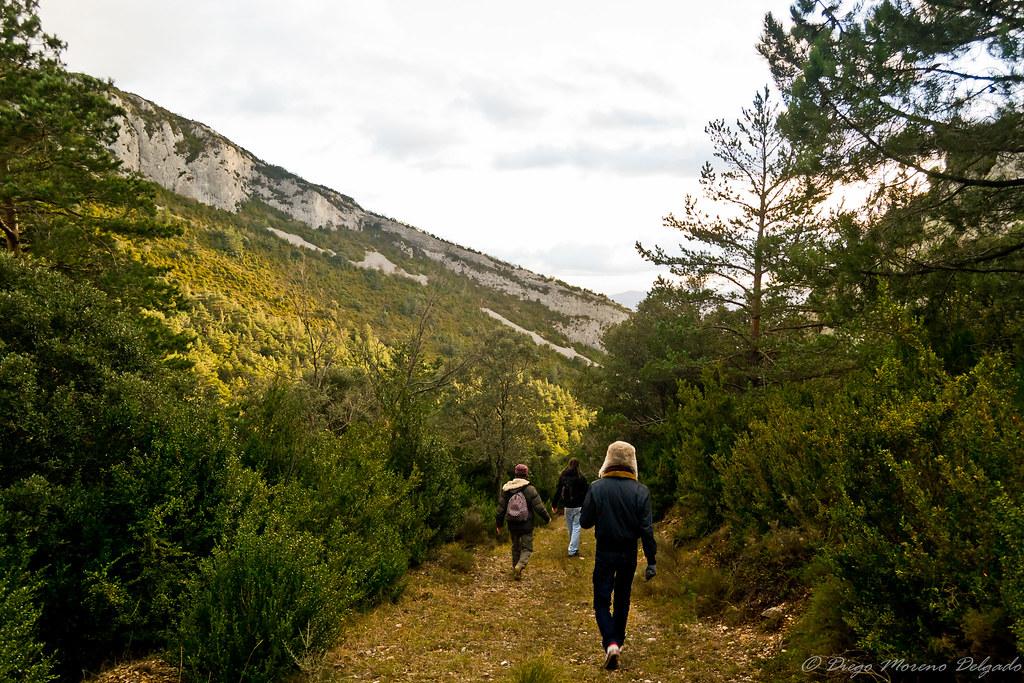 Caminando entre dos montañas - Walking between two mountains