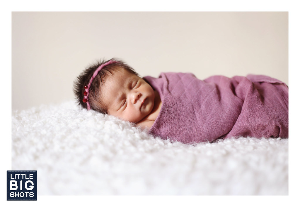 Introducing Aisyah Qisha Hanania | Newborn Portraiture