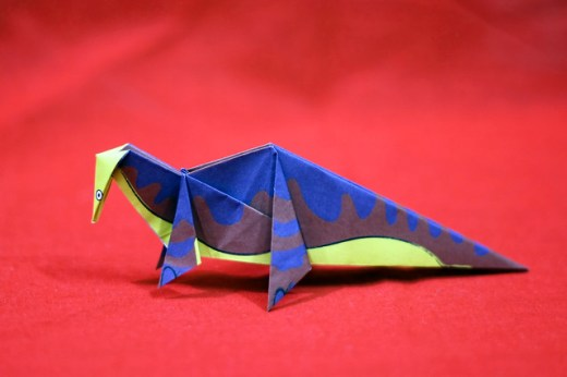 Origami Supersaurus