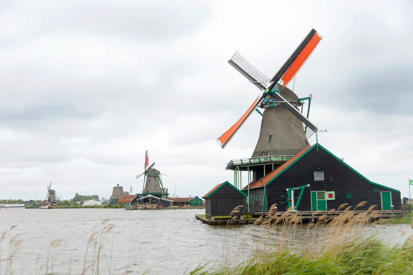 Windmills at Zaandijk.