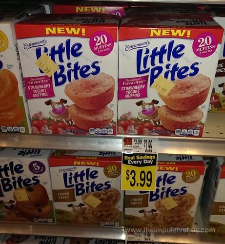Entenmann's Seasonal Favorites Strawberry Yogurt Muffins Little Bites