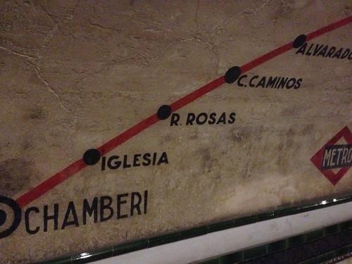 Chamberí, Estación Cero. Madrid