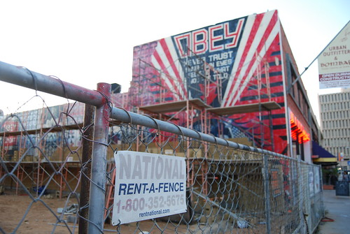 Obey Giant mural