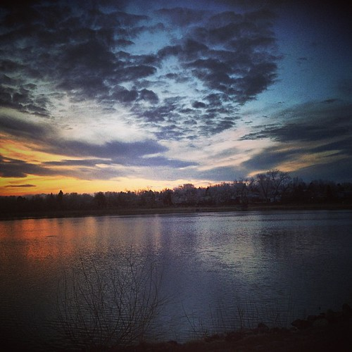 #sunset #denver #cloudporn by @MySoDotCom
