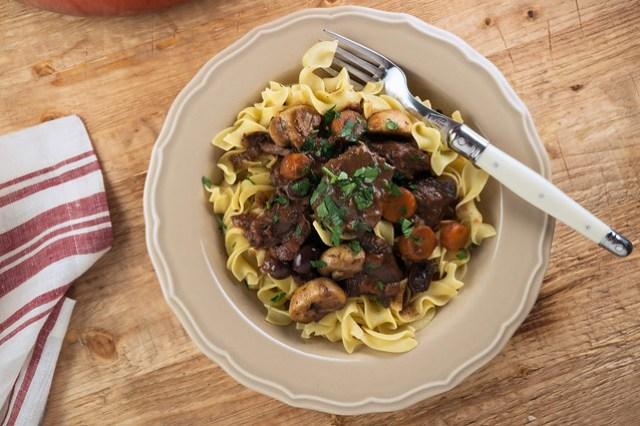 Provencal Beef Stew , daube provencal