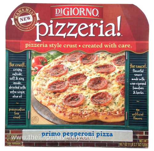 DiGiorno Pizzeria Primo Pepperoni Pizza