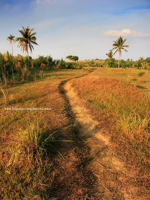 Established trails hiking in Calaguas