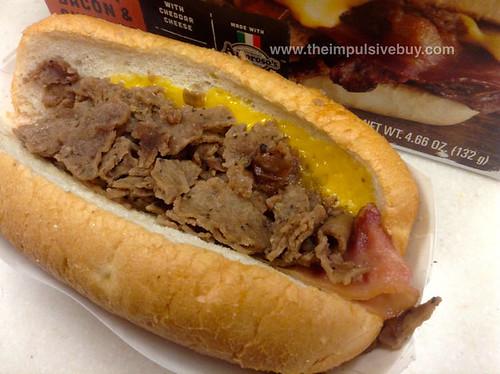 Steak-Eze Philly Steak Bacon & Cheddar Closeup