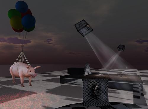 Ballooning Pig