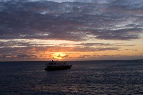 Sunset at Darwin Island
