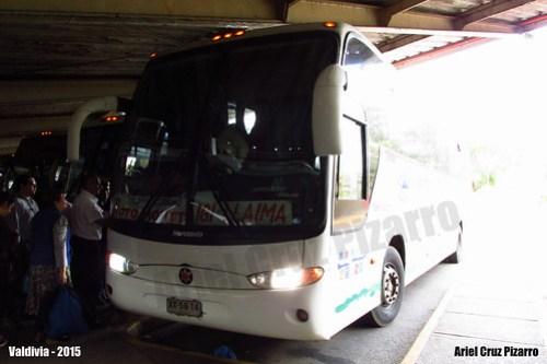 Igi Llaima Internacional - Valdivia (Chile) - Marcopolo Andare Class / Mercedes Benz (XX5814)
