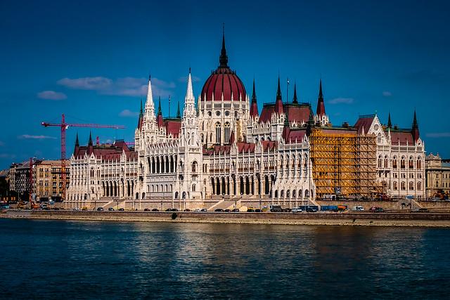 Hugarian Parliament Building, Budapest