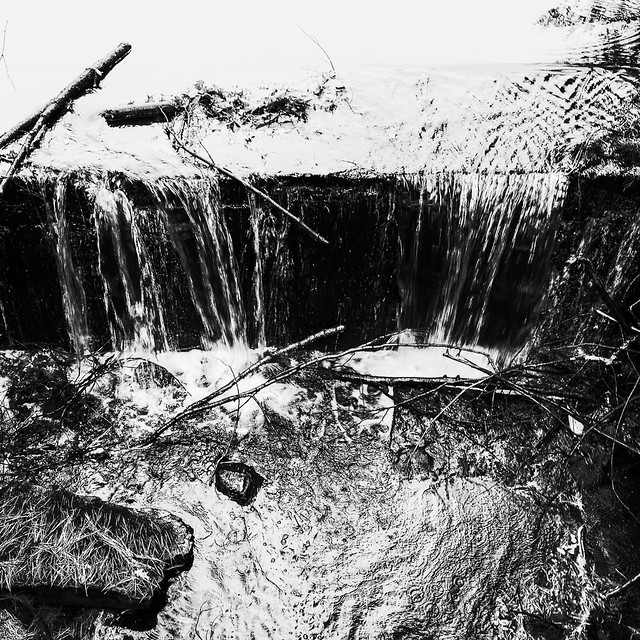 Shepaug River falls