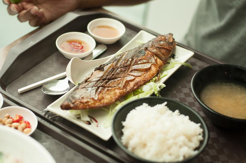 Day 314.365 – Saba Fish Set for Brunch