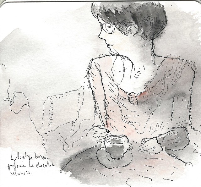 """Laurence and her """"Chocolat Viennois"""""""