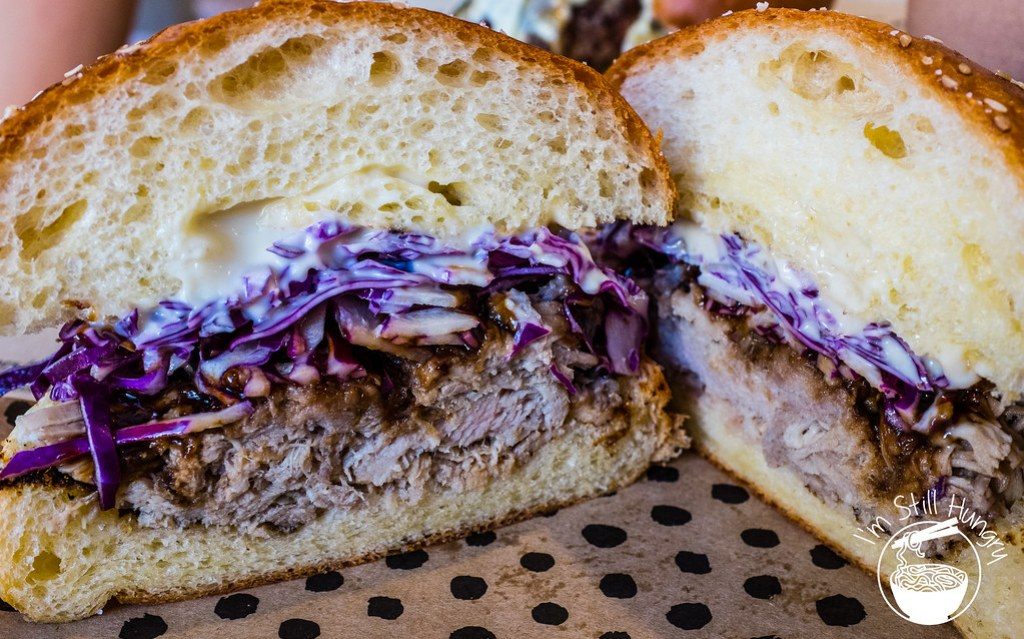 Chur Burger pulled pork burger