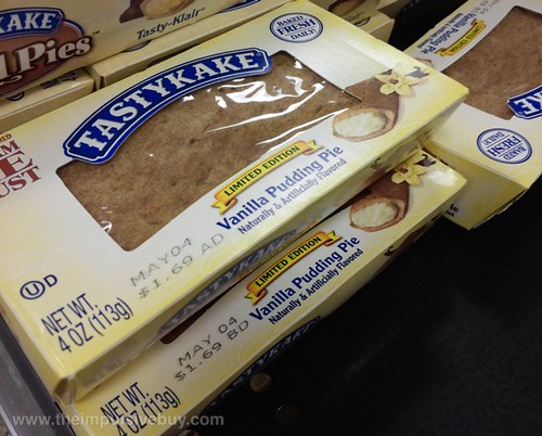 Tastykake Limited Edition Vanilla Pudding Pie
