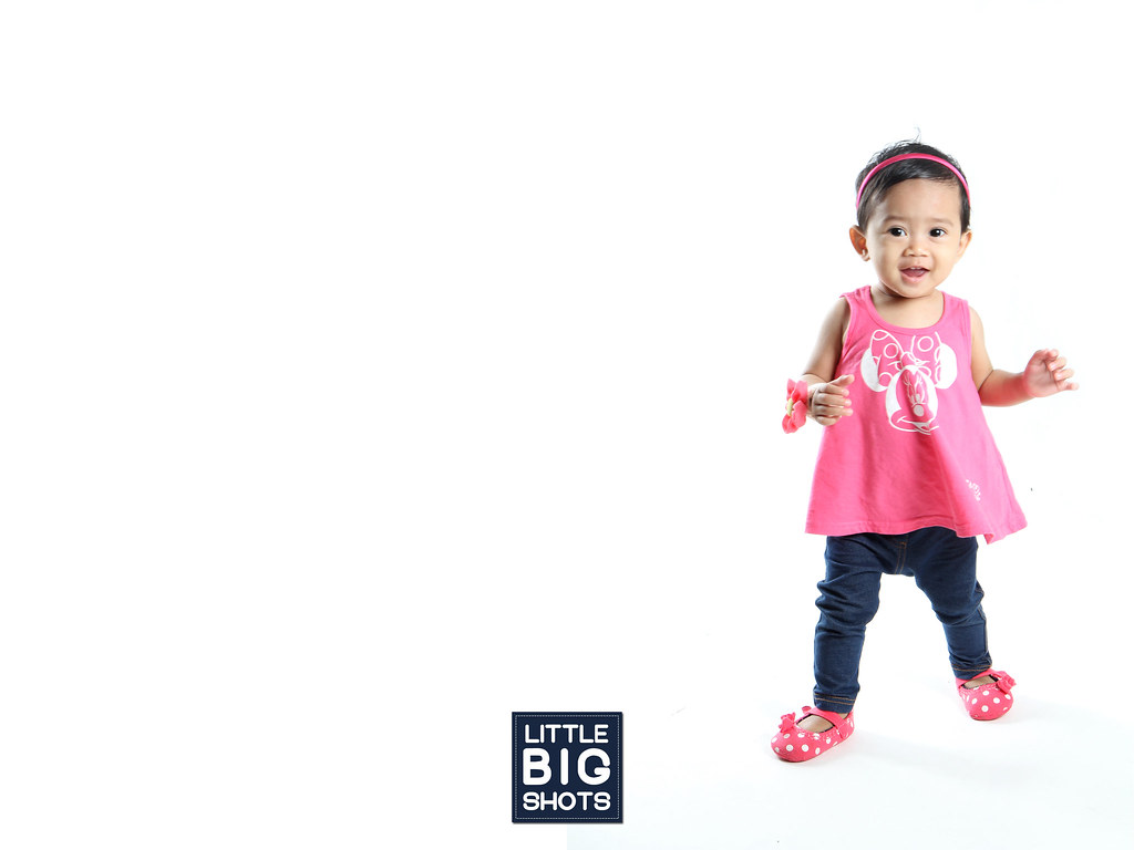 Sweet Girl, Muazzah | Toddler Studio Portraiture