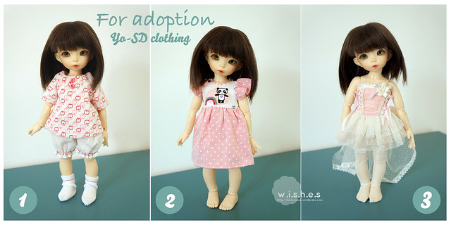 FOR ADOPTION: Yo-SD clothing