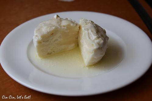 burrata in olive oil
