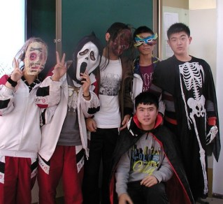 Halloween at Guiyang American-Canadian International School -x