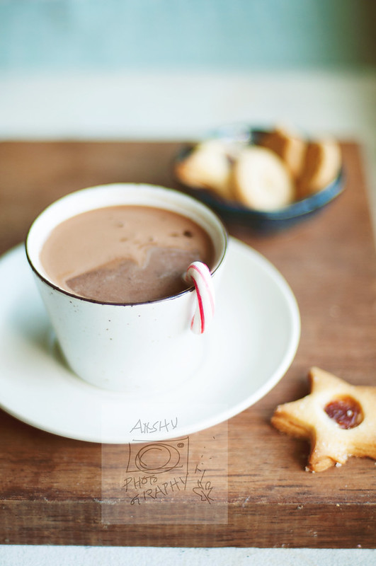 Day 358.365 –  Hot Cocoa with Candy Cane