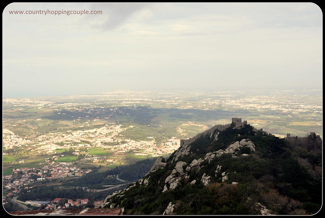 View of Moorish Castle from Pena Palace