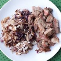 Beef Tagliata with Radicchio & Gorgonzola