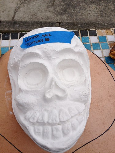 Leather Mask Template