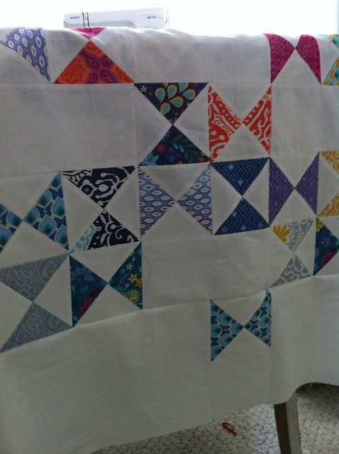 Charm Crossing top near completion