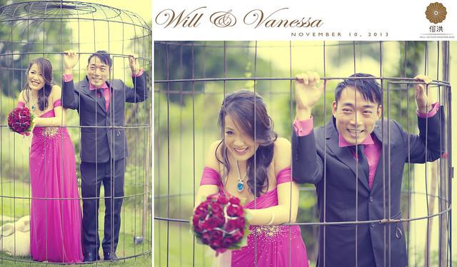 Will and Vanessa Wedding Reception @ The White Rabbit Singapore