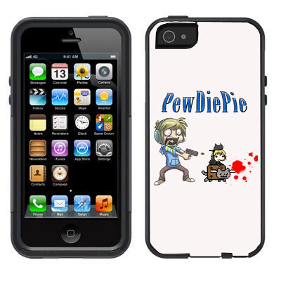 NEW PEWDIEPIE SHOOTING IPHONE 5 DEFENDER STYLE CASE PREFECT GIFT  eBay