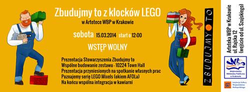 AFOL Meetup at Arteteka WBP Krakow this Saturday