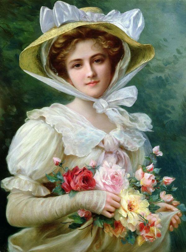 Elegant Lady Painting