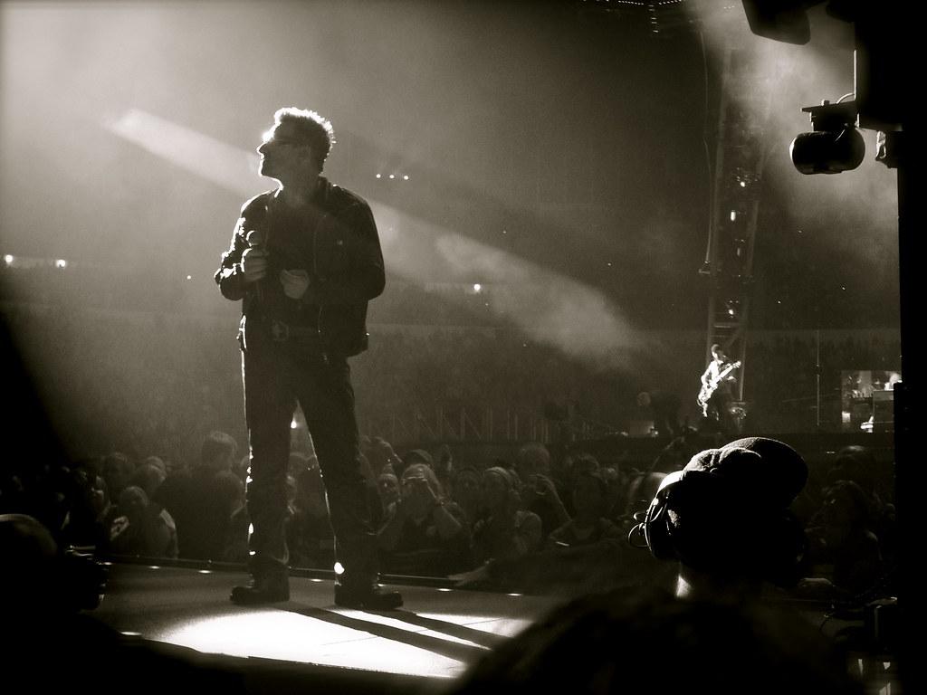 Bono, Olympic Stadium Helsinki 2010