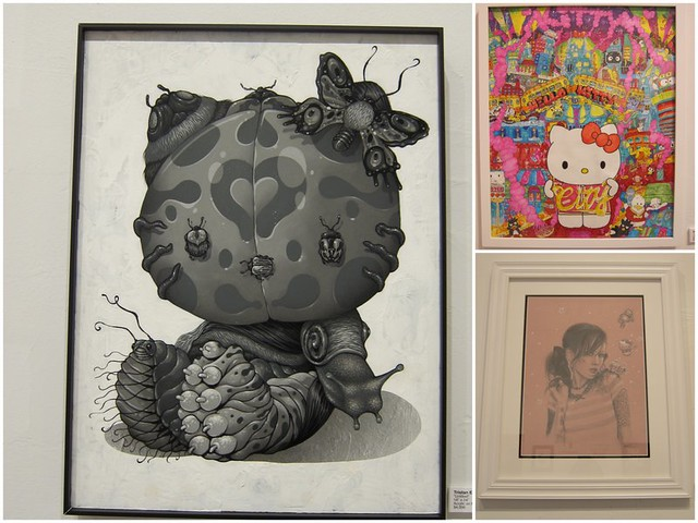 Tristan Eaton - Natalia Fabia - Hello Kitty artwork