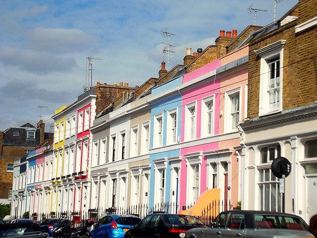 notting hill, places to live in london, where in london should i live, flat hunting in london
