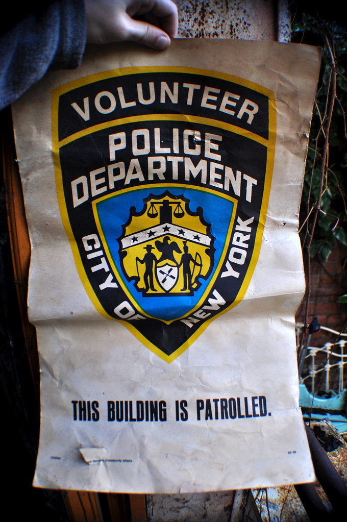 Volunteer Police Department City of NY