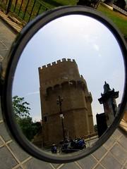 Vista lateral torre de los serranos