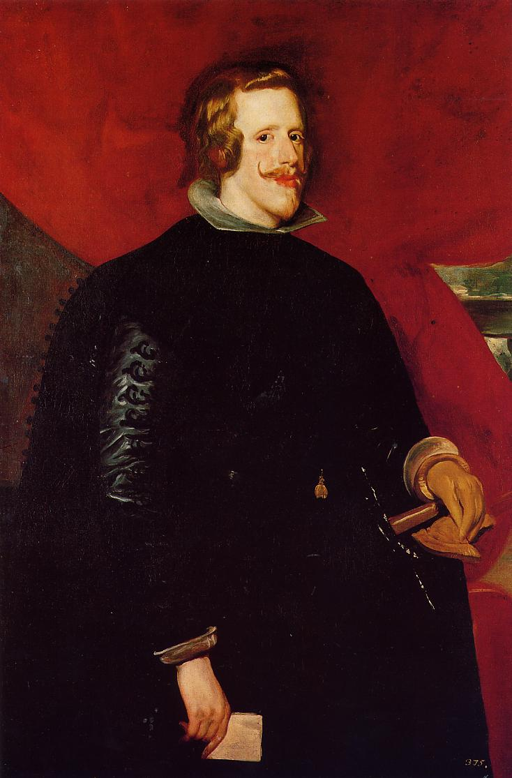 8. El rey de España Felipe IV. Diego Velázquez. Óleo sobre tela, 1632