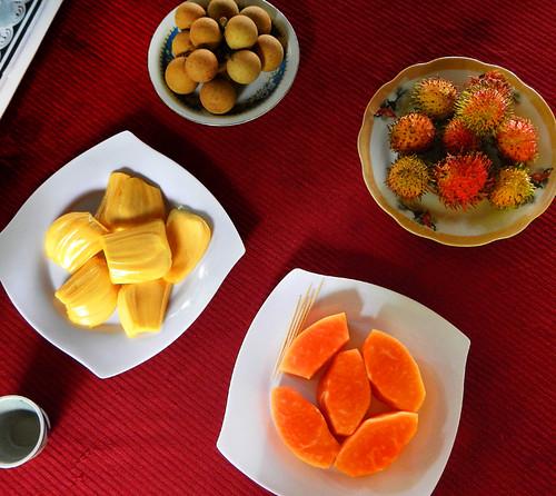 fruit tasting in Mekong Delta, Vietnam